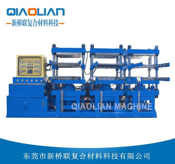 多工位碳纤维热压成型机